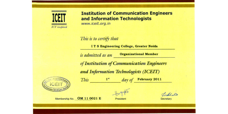 Institution of Communication Engineers and Information Technologies (ICEIT)