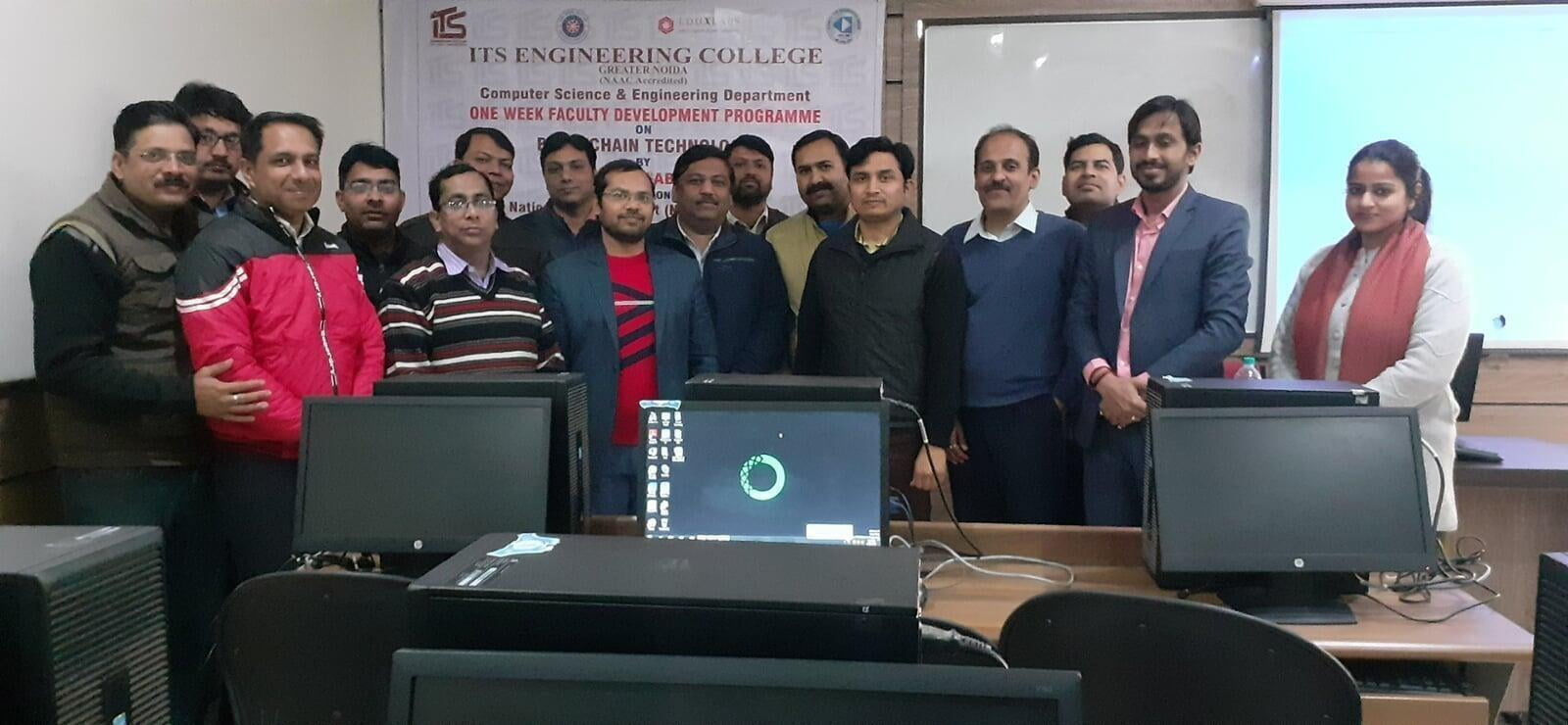 Faculty Development Program on Block Chain Technology