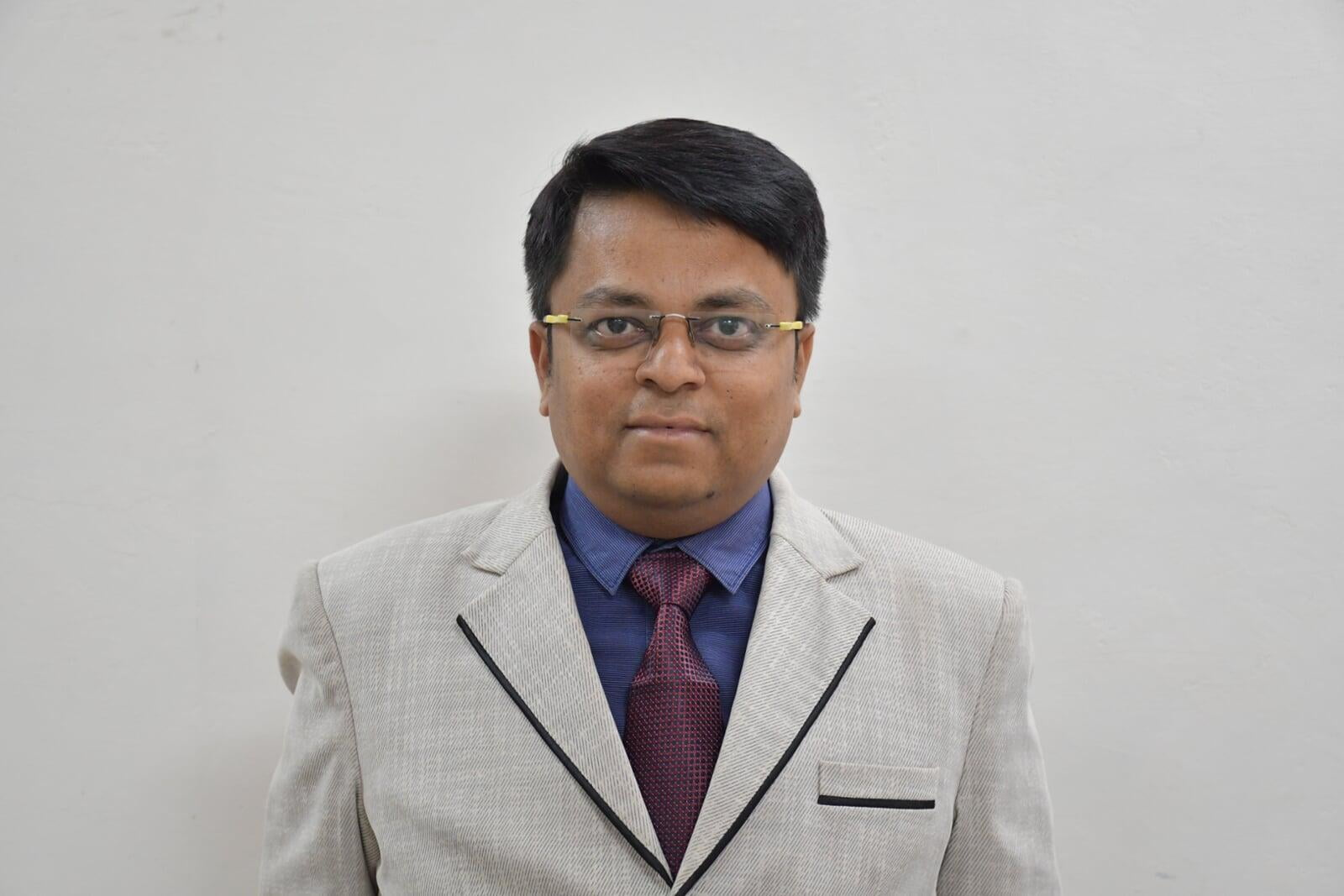 Mr. Abhishek Shivhare B.Tech Computer Science Faculty