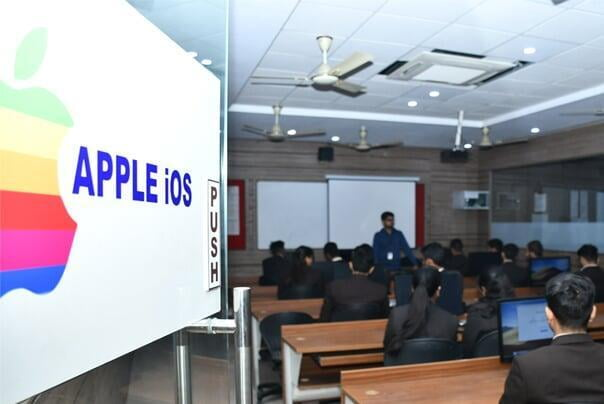 Apple iOS Lab ITS Engineering College