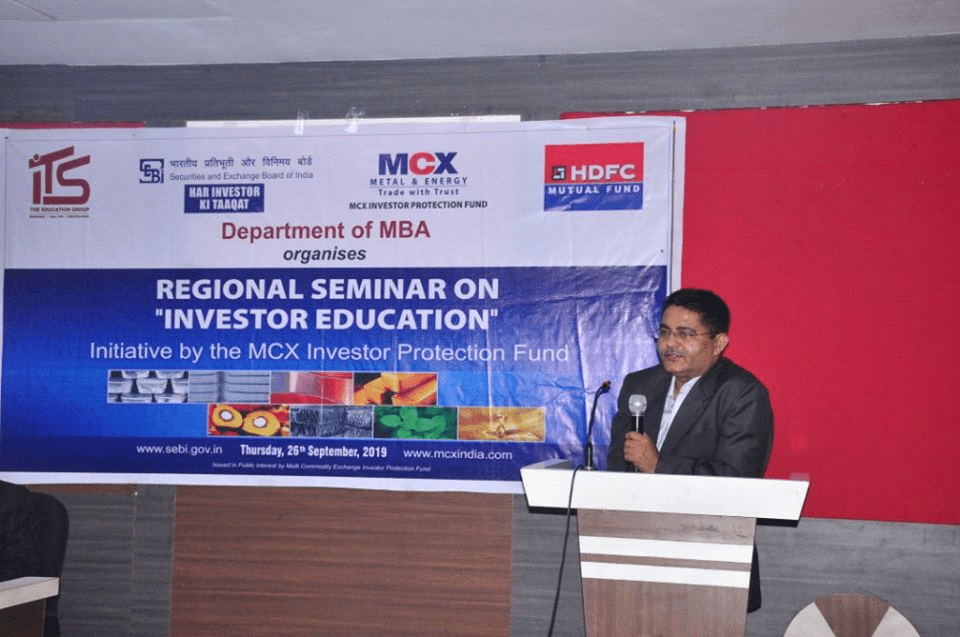 Expert Talk on Regional Seminar on Investor Awareness