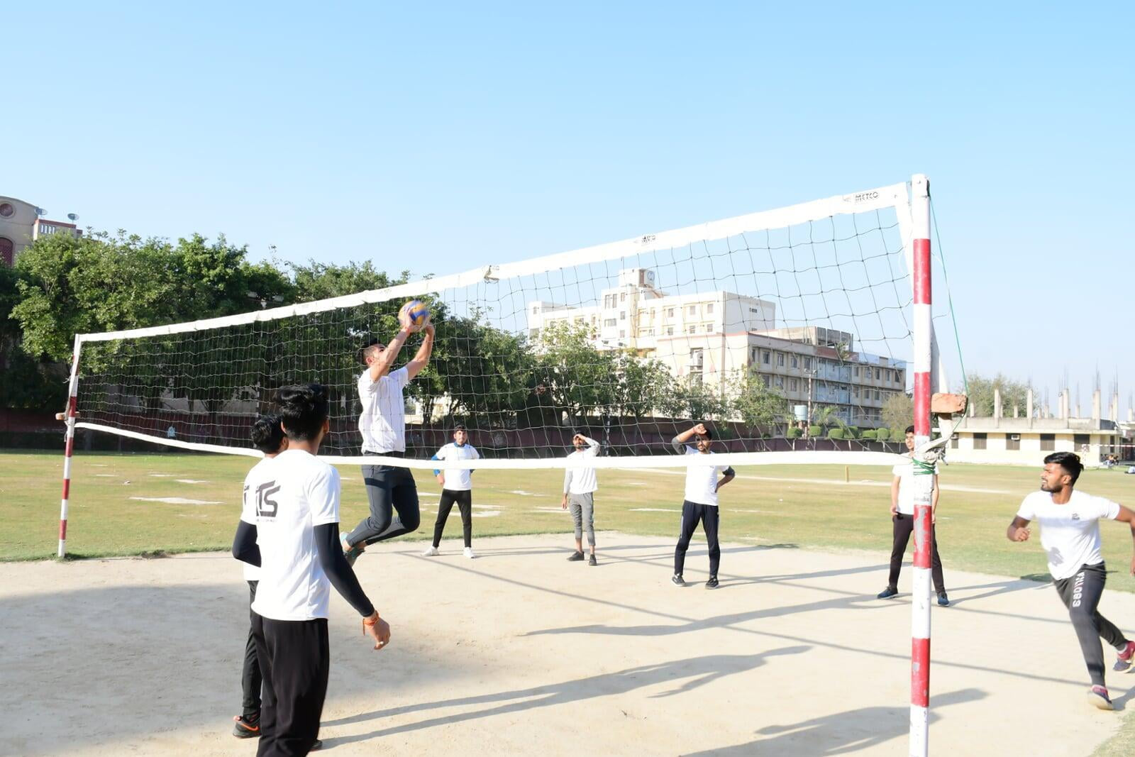 Volleyball Sports Activities at ITS