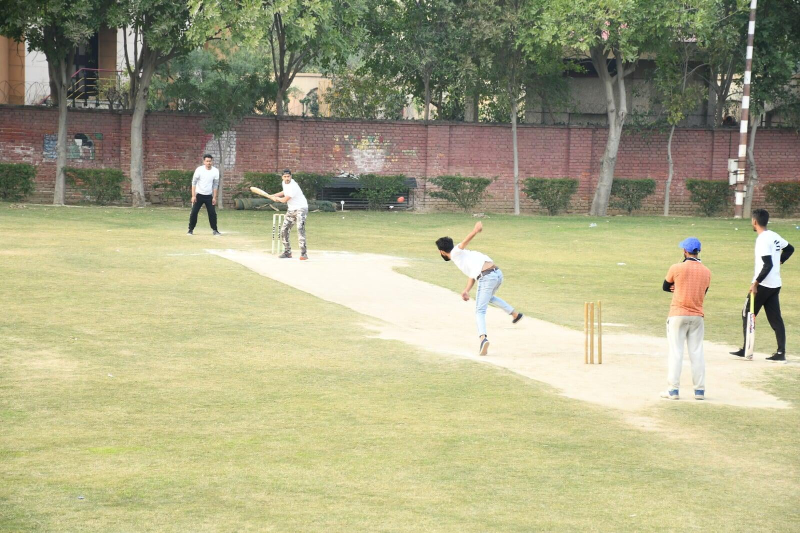 Cricket Sports Activities at ITS