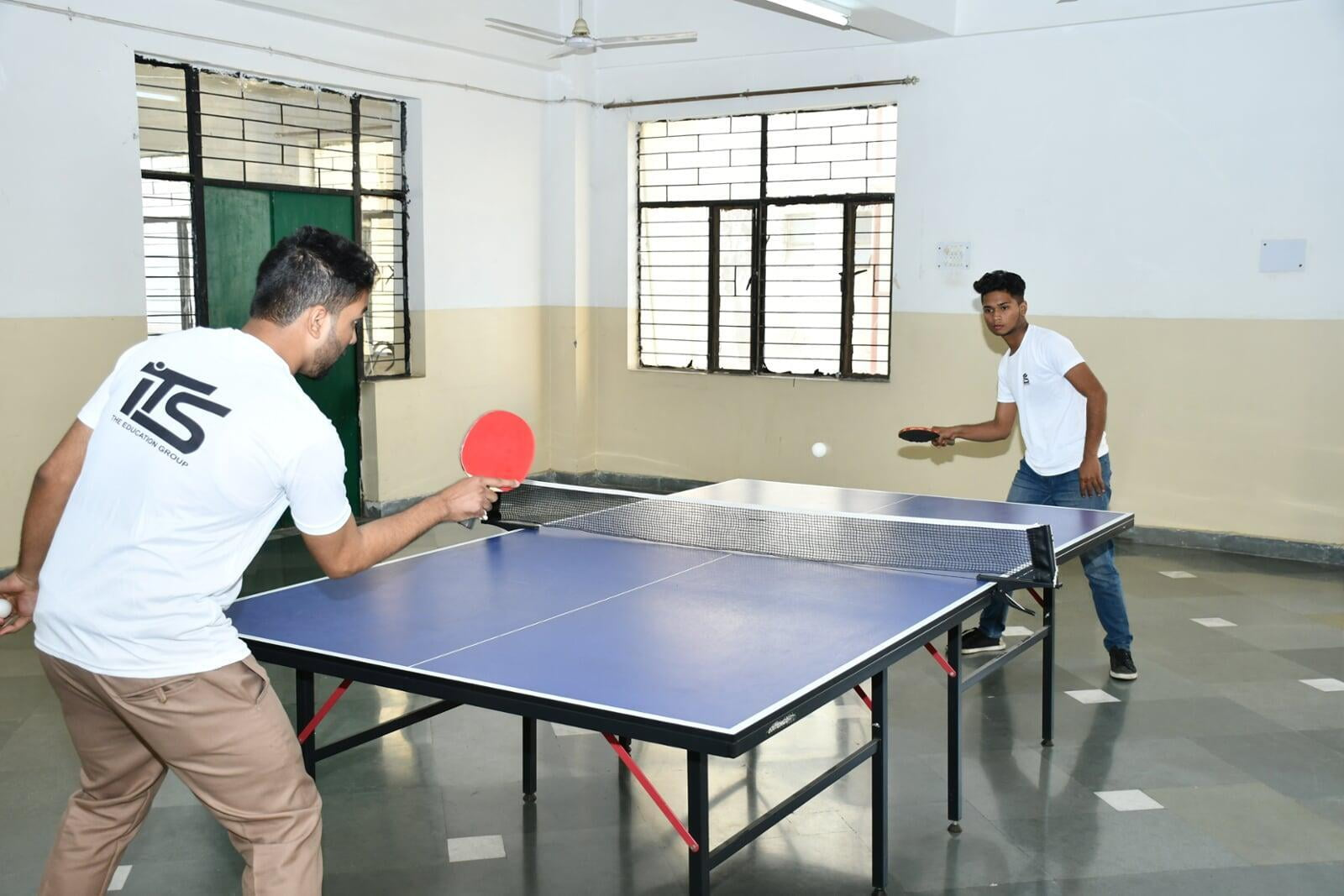 Table Tennis Sports Activities at ITS