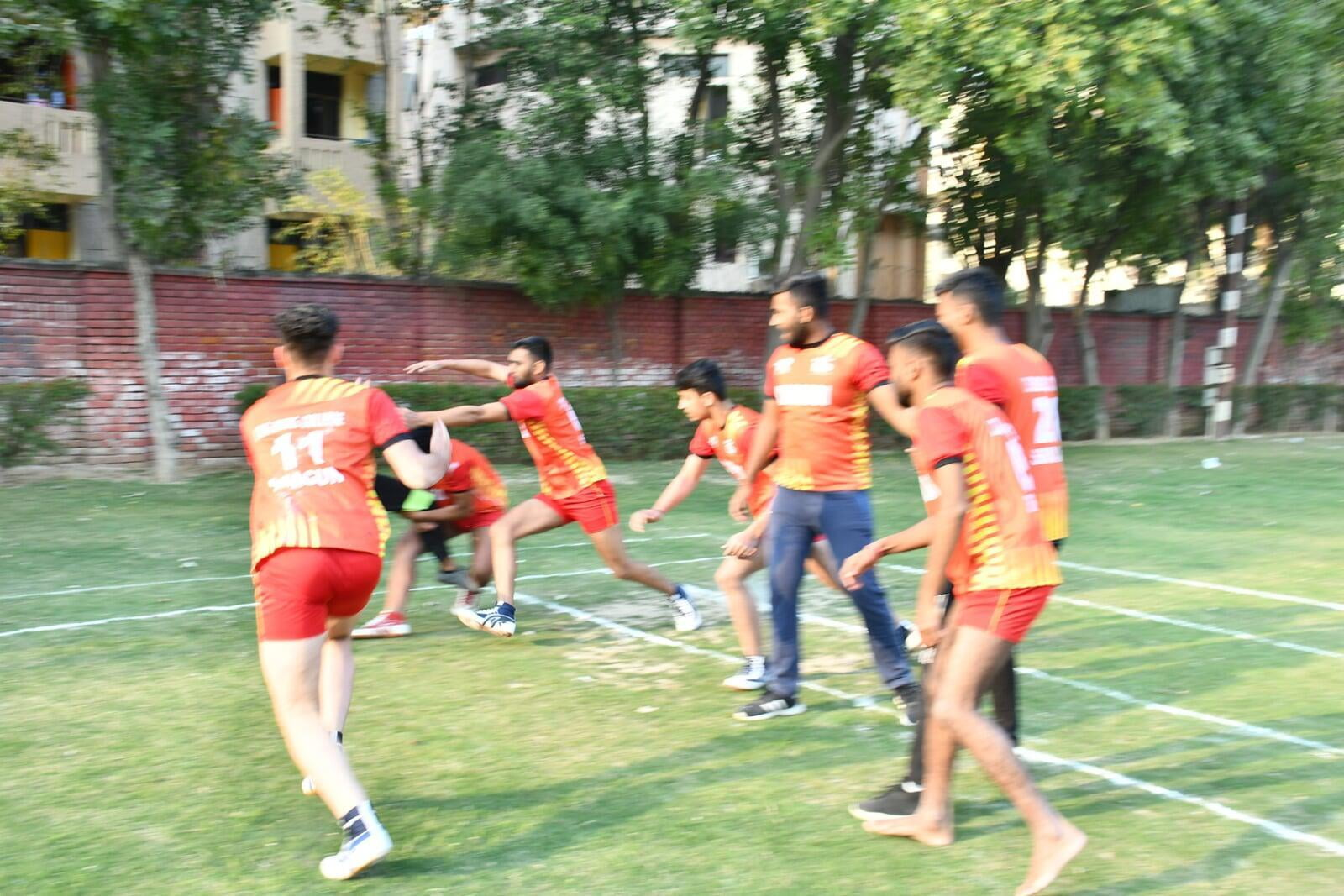 Kabaddi Sports Activities at ITS