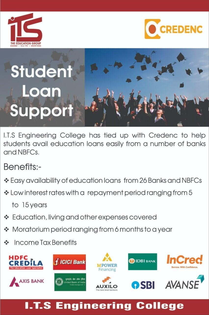 Education loan Assistance - ITS Engineering College
