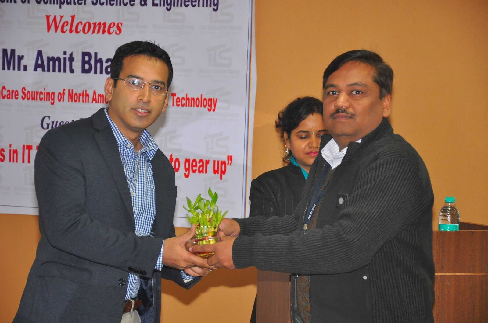 B.Tech CSE HOD Felicitation at  ITS