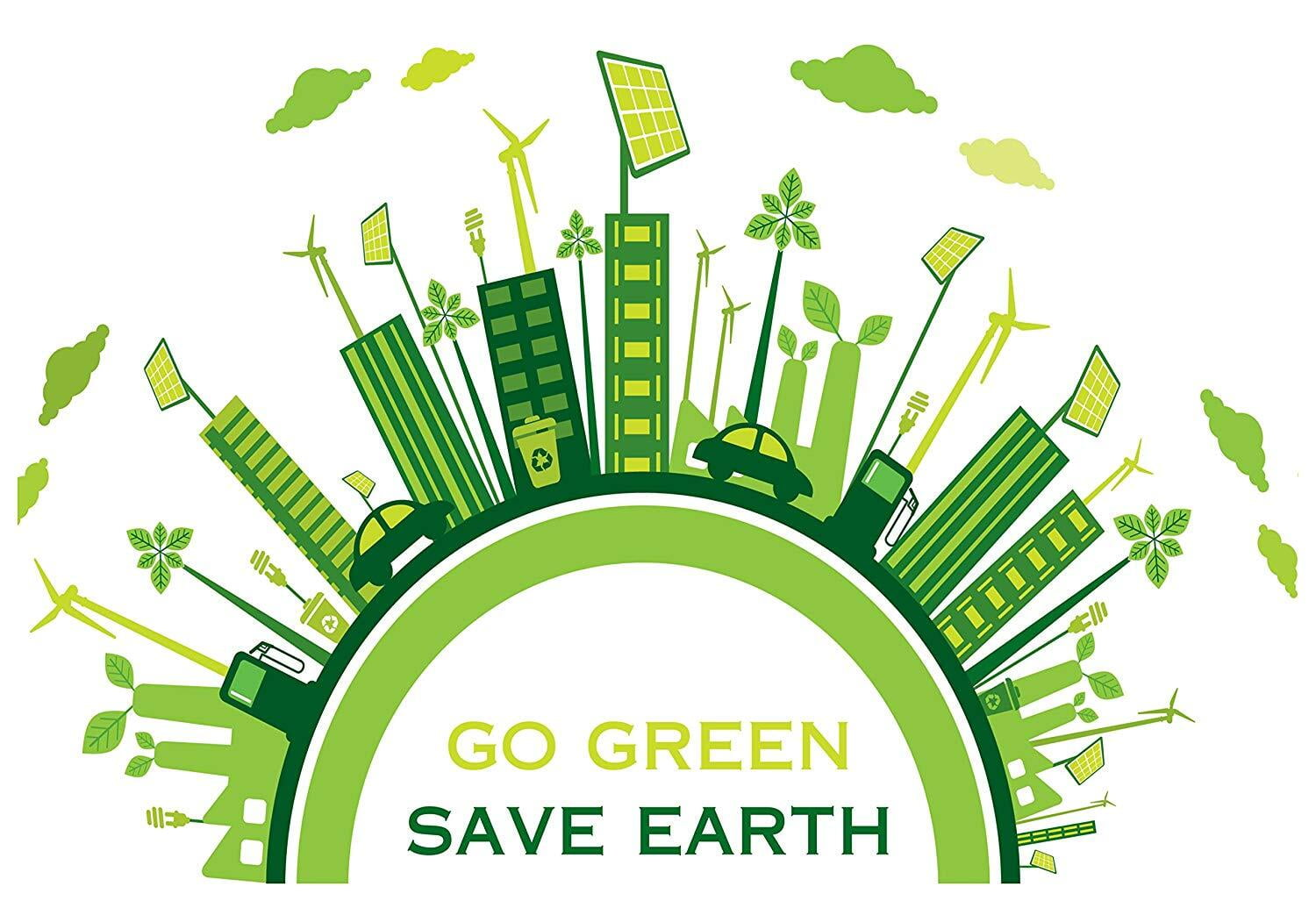 Go Green Save Earth Campaign at ITS Engineering College Delhi NCR