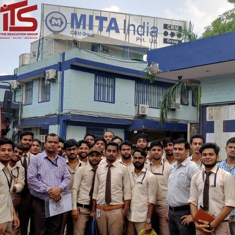 Industrial Visit of ME Engineering Students at ITS