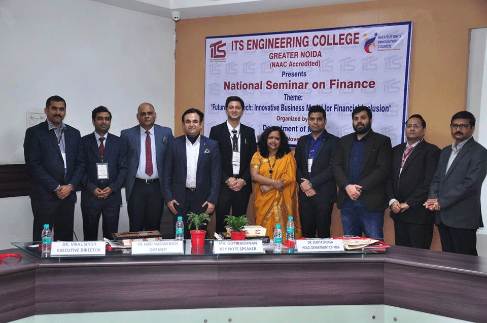 "National Seminar on ""Future of FinTech at ITS"