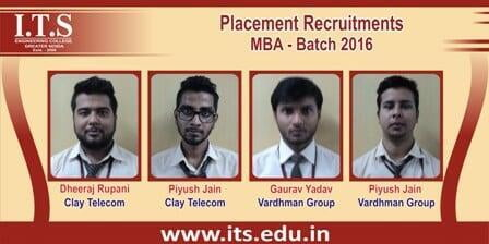 ITS Engineering College 100% Placements