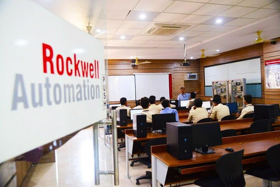 ITS Rockwell Automation Lab for EEE Students