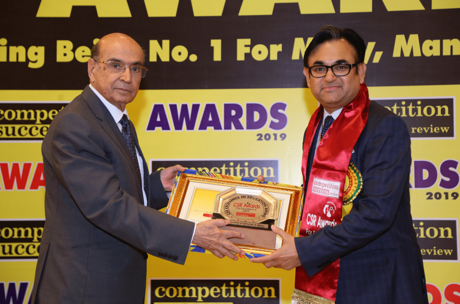 CSR Excellence in Education Award by Competition Success Review