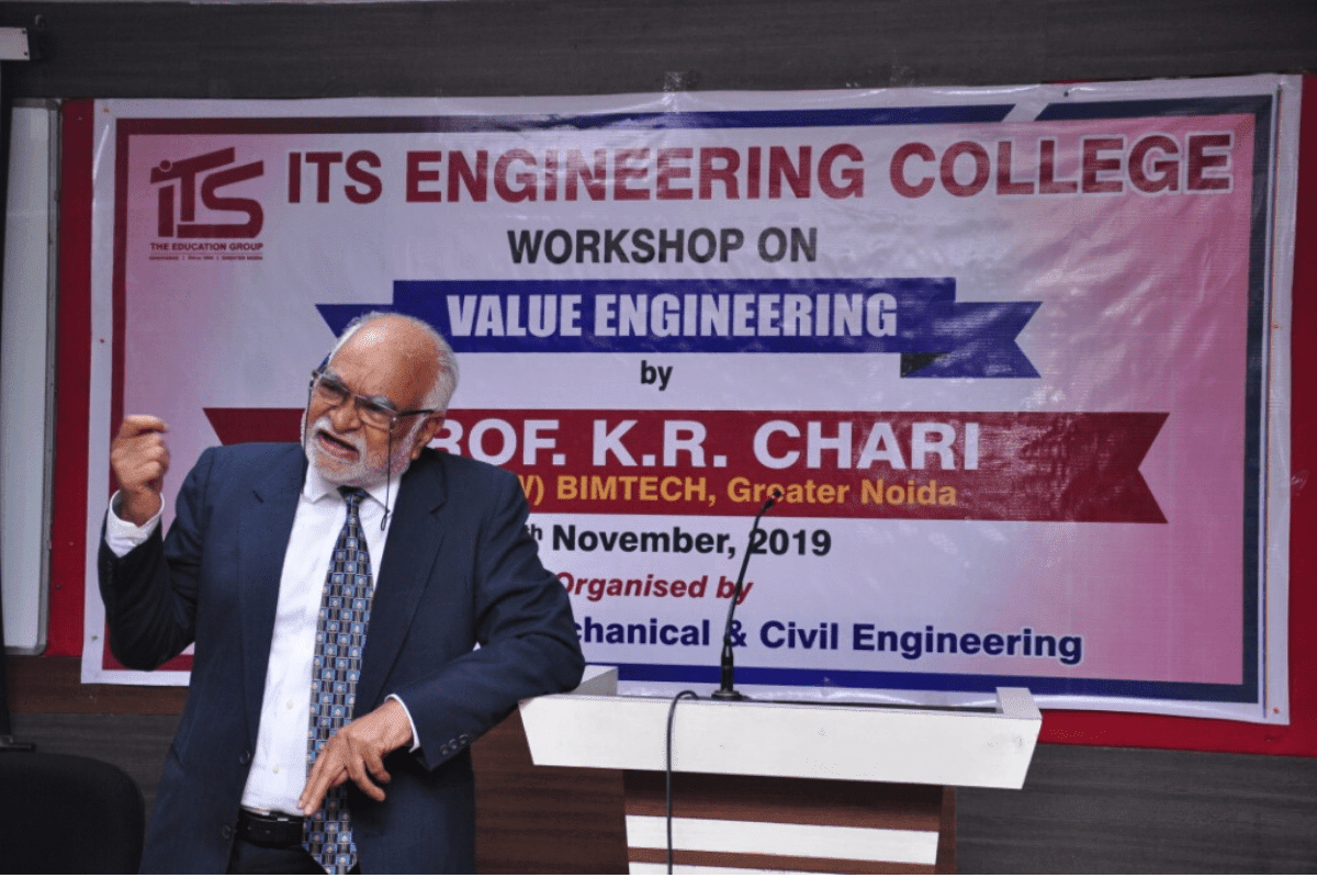 Workshop On Value Engineering