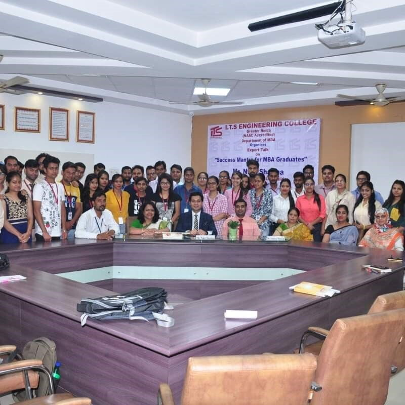 Organized Expert talk on Success Mantras for MBA Graduates