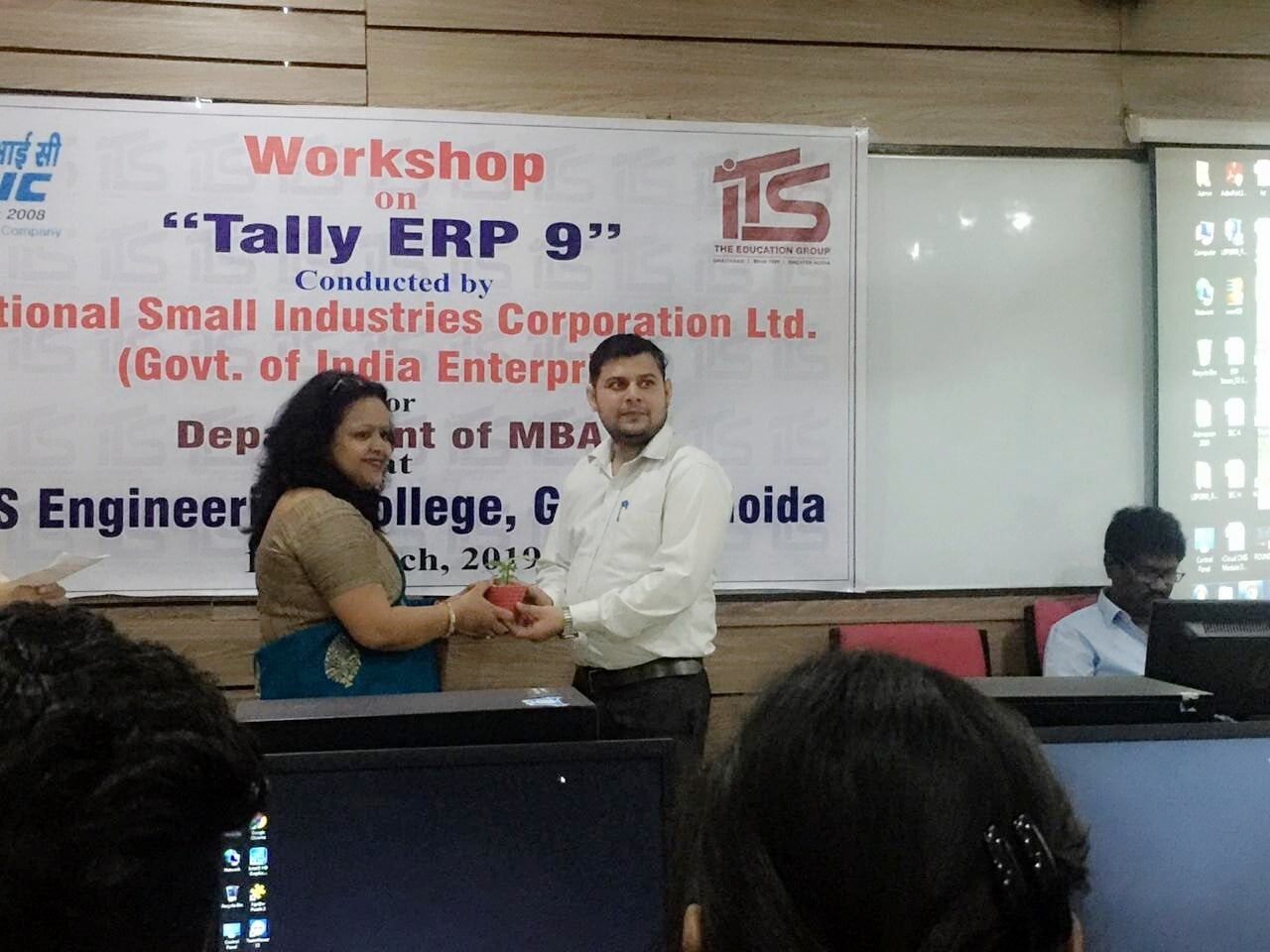 Workshop Conducted on Tally ERP 9.0
