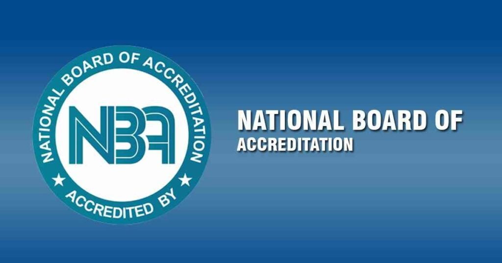 NBA Accreditation  ITS Engineering College