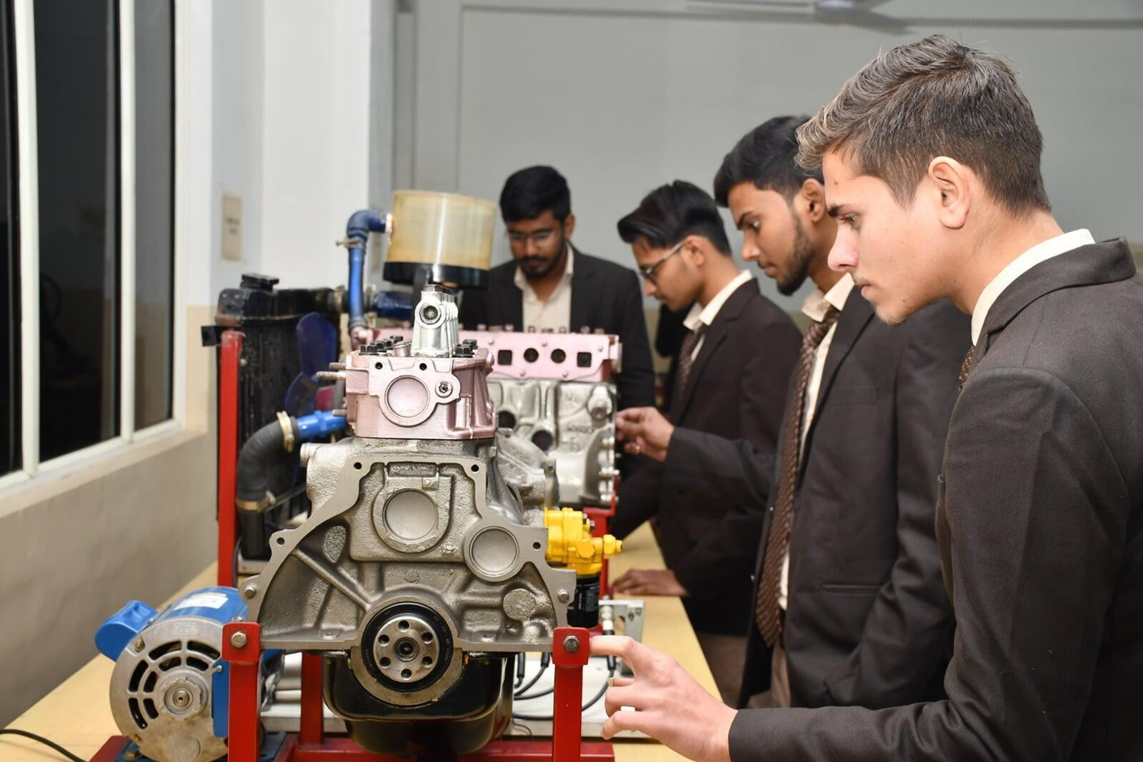 IC Engine And Automobile Engineering Lab