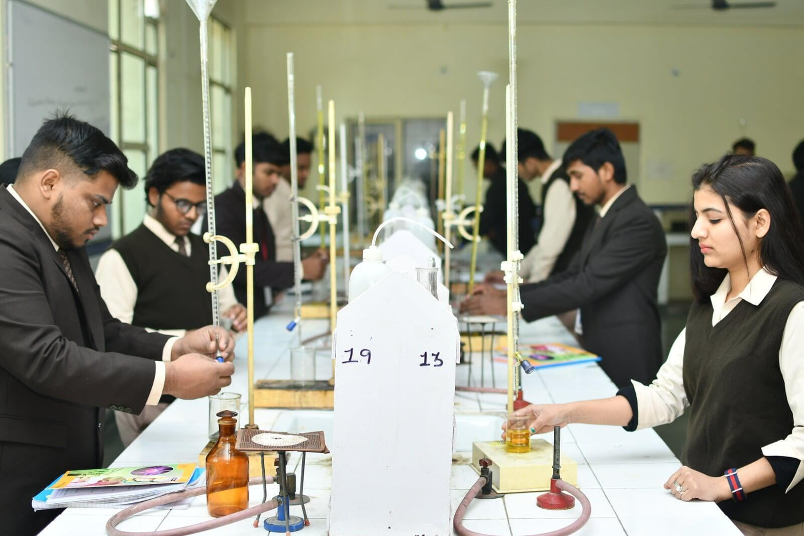 B.Tech Applied Science and Humanities Chemistry  Labs