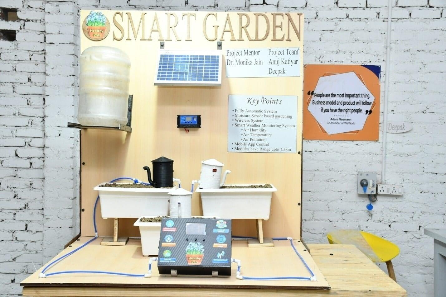 Industry Immersions Smart Garden  Project at ITS