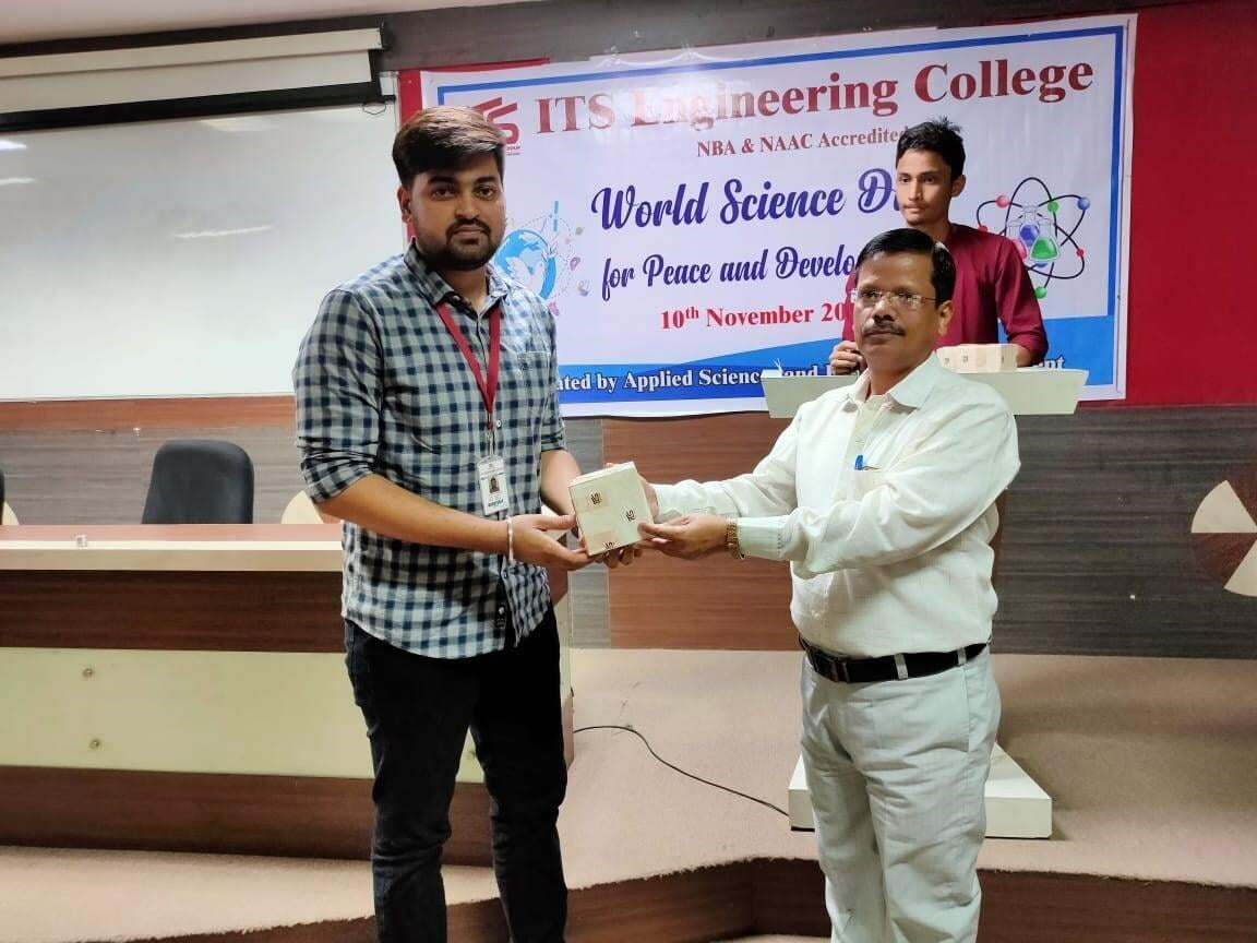 B.Tech Civil Engineering Students Activities  at ITS
