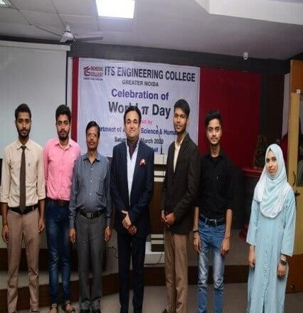 World Pie Day B.Tech Civil Engineering Students Events at ITS