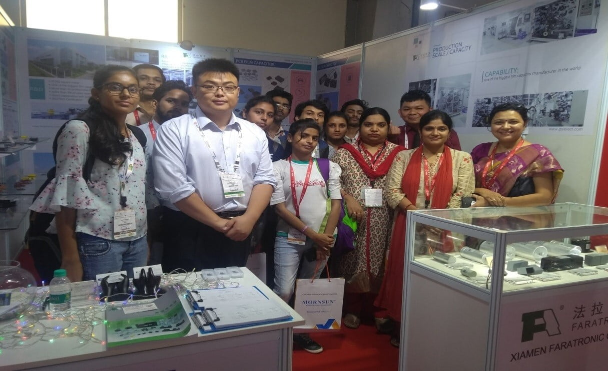 Expo Visit for students of B. Tech ECE Students