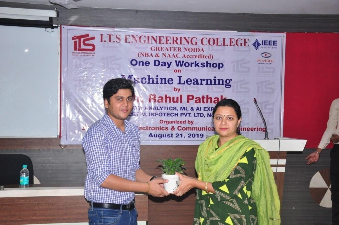 Machine Learning Workshop for ECE Students at ITS