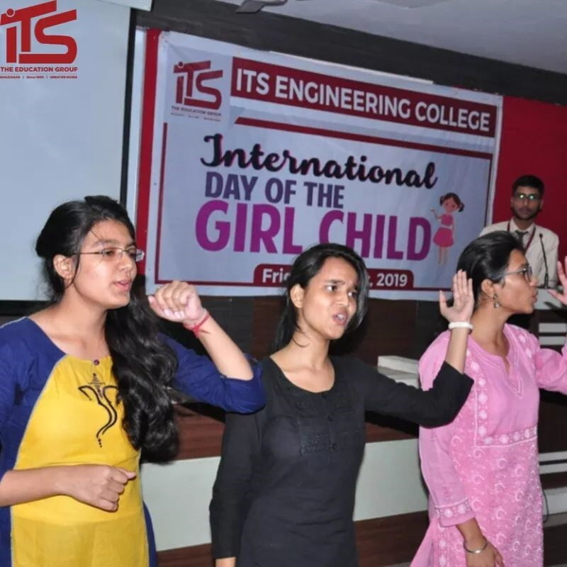 B.Tech Civil Engineering Students Events at ITS