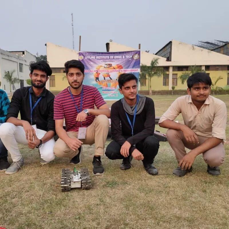 Robo Race event zonal level first Position of ITS