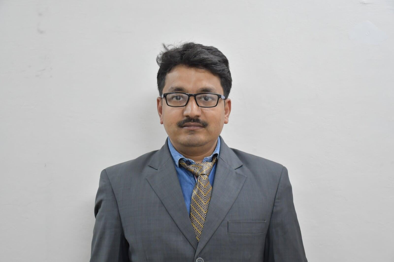 Mr. Sachin Goel B.Tech Computer Science Faculty