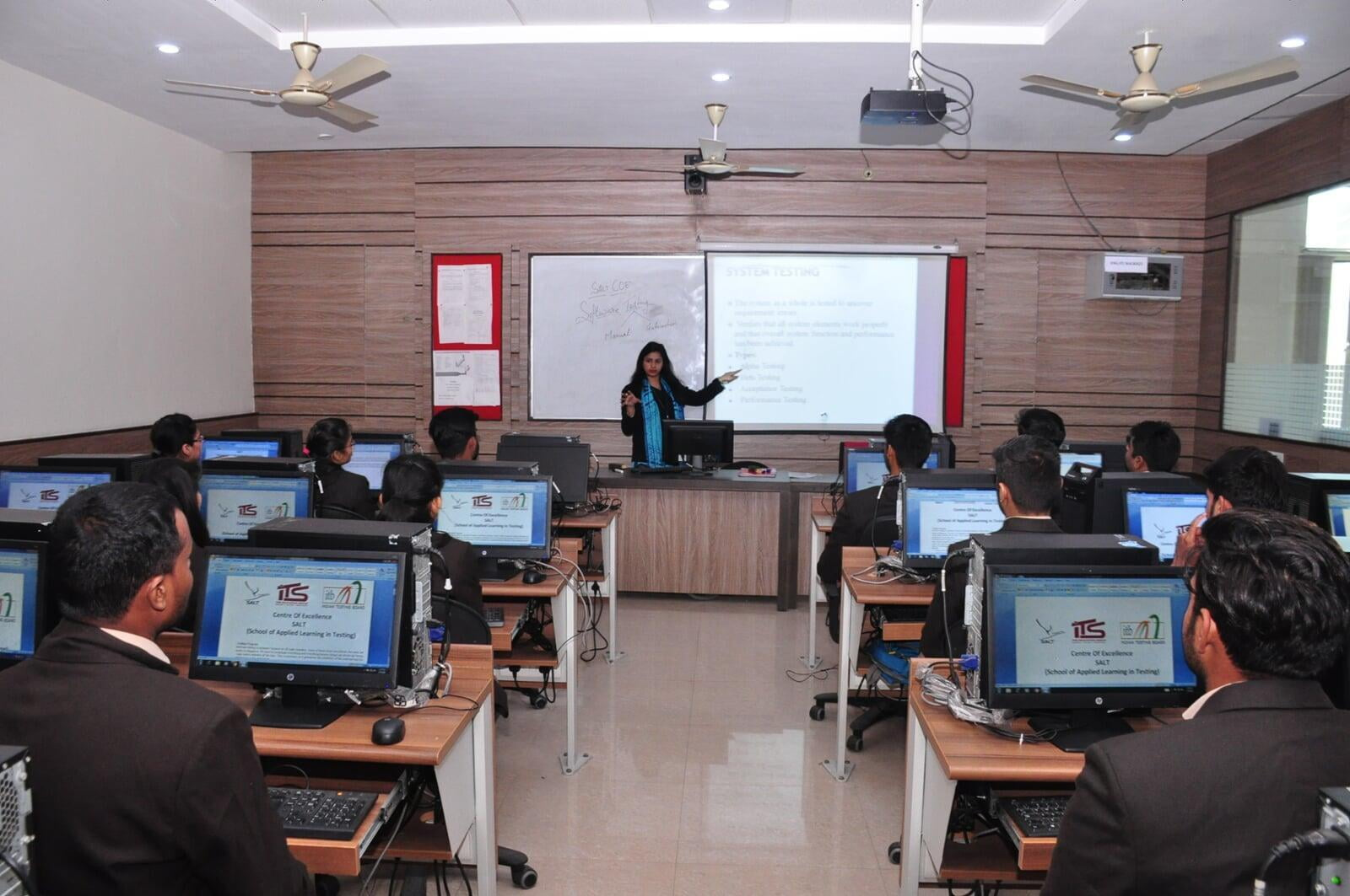 ITB and SALT Software Testing Lab with students